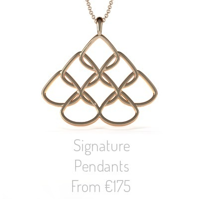 Rionore Jewellery Signature Rose Gold Pendant