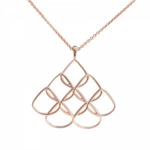 Rionore Jewellery Rose Gold Pendant Large