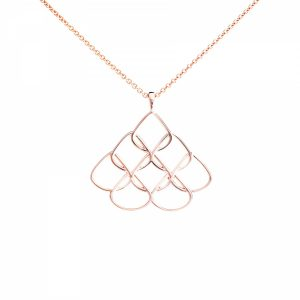 Rionore Rose Gold Pendant Small