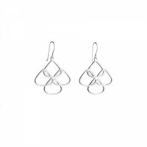 Rionore Sterling silver Chandelier Earrings