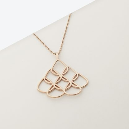 RioNore Large Rose Gold Pendant