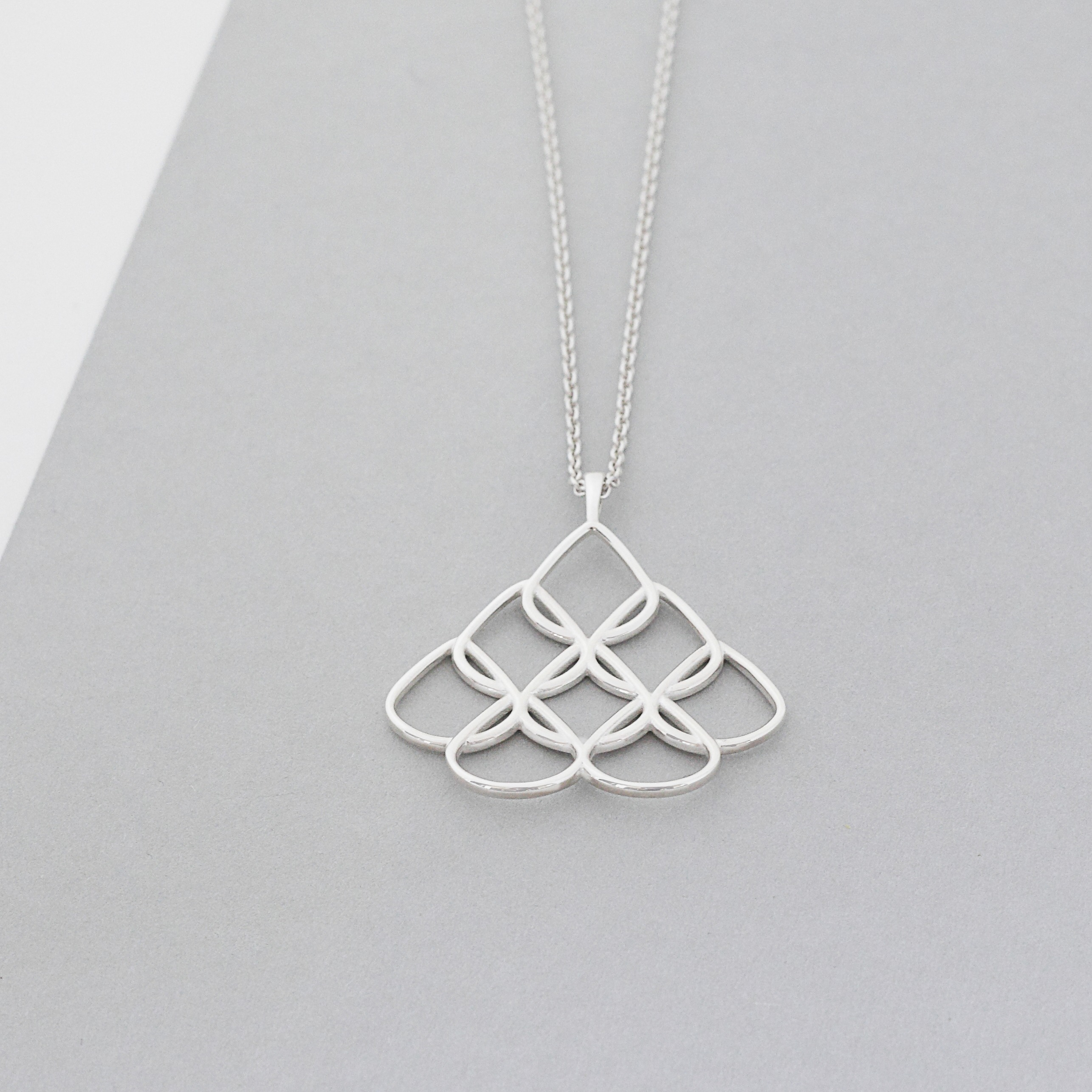 Small Sterling Silver Pendant