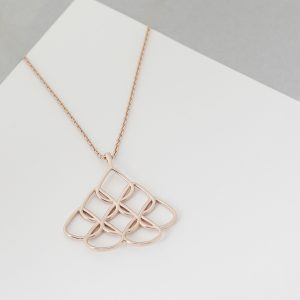 Small Rose Gold Pendant