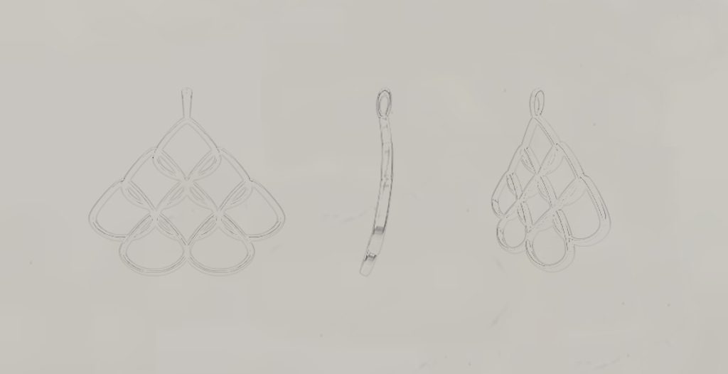 Rionore Jewellery Design Sketch