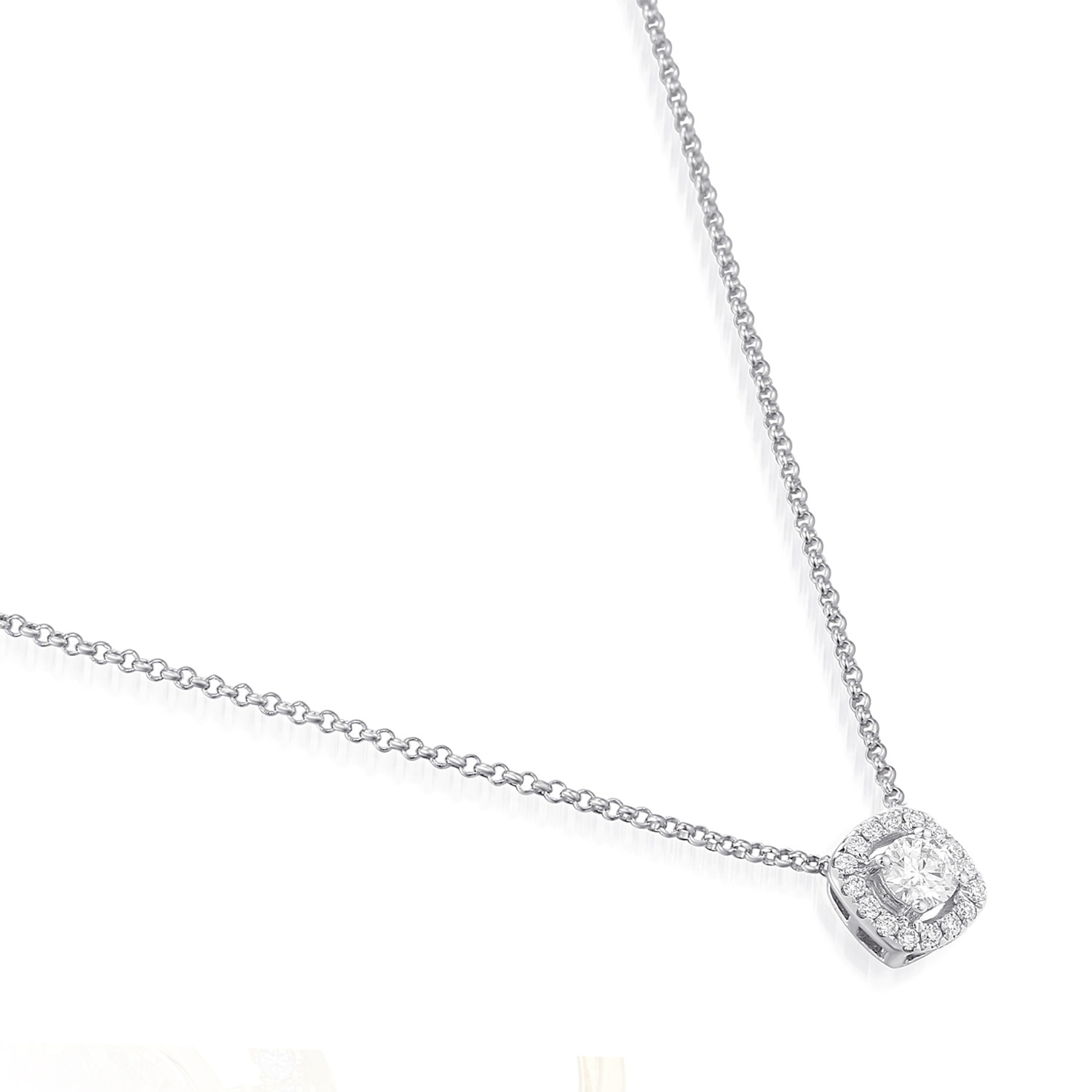simple elegant diamond necklace