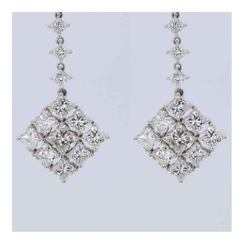 luxury diamond earrings