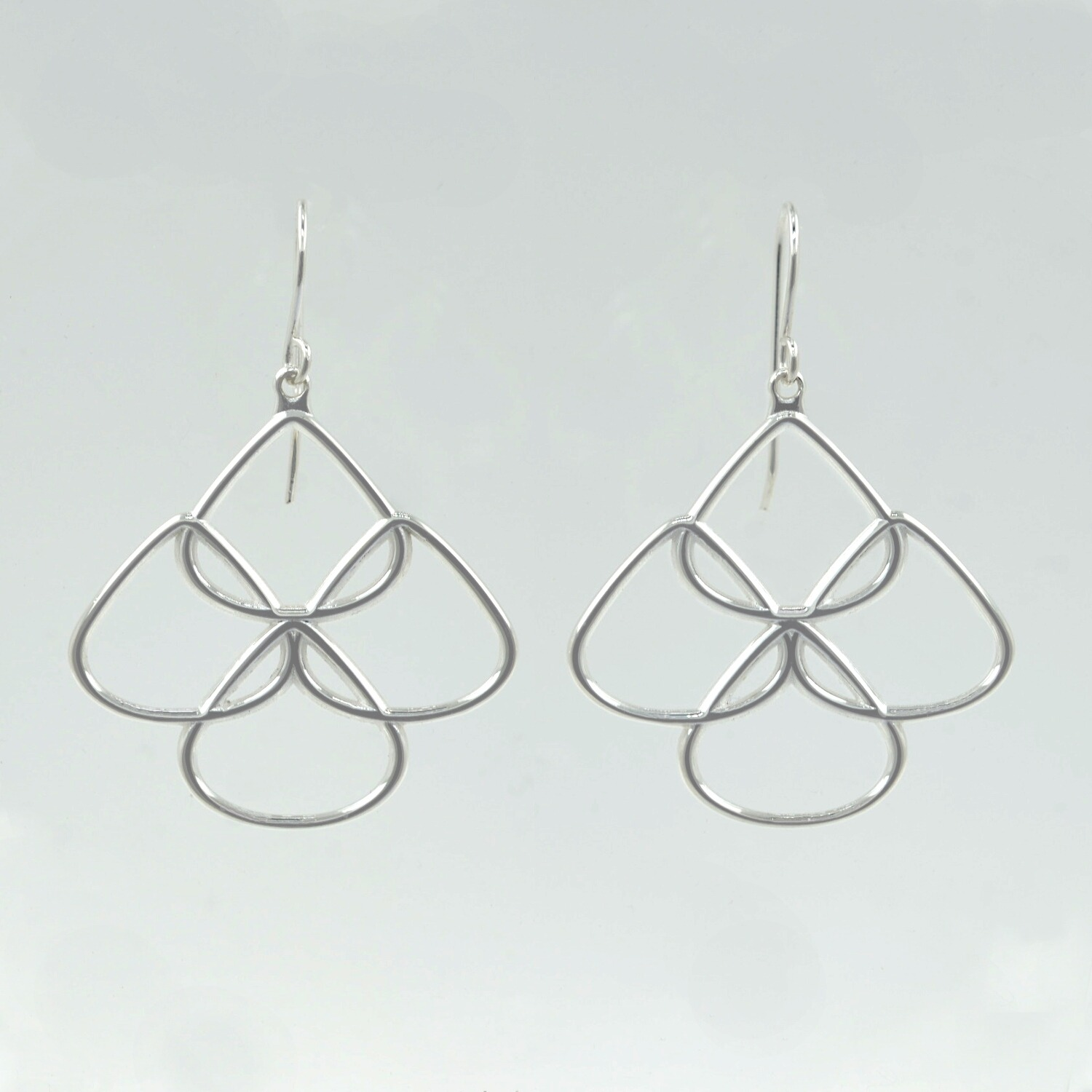 Sterling silver chandelier earrings rionore jewellery sterling silver chandelier earrings aloadofball Images