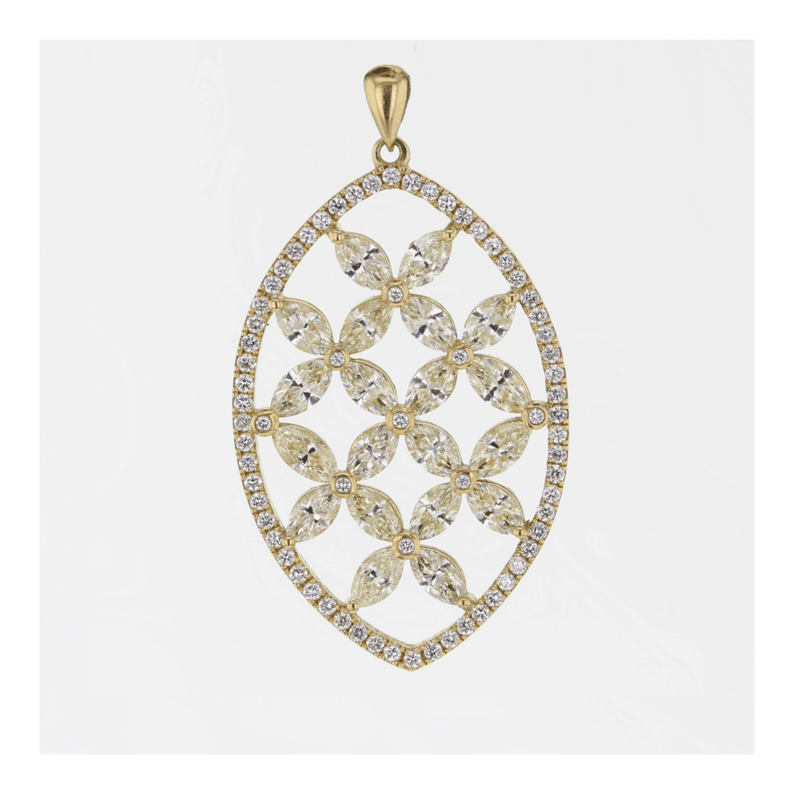 square marquise diamond in tilted image necklace titled gold ladies pendant white pav shaped