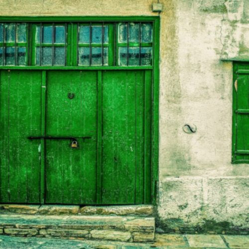 Rionore Emerald Green Door